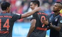 Bayern nhận cú hích từ Lewandowski