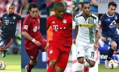 Chuyện những ngôi sao Mỹ-Latin khuynh đảo Bundesliga 2016/17