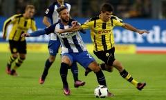 21h30 ngày 11/03, Hertha Berlin vs Dortmund: Trận cầu 6 điểm