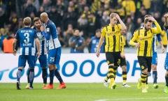 Một siêu phẩm, một sai lầm, Dortmund gục ngã trên sân Hertha Berlin