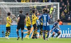 Chùm ảnh: Aubameyang lập công, Dortmund vẫn thất bại