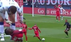 Sao PSG gây bất bình với bàn thắng 'phi thể thao'