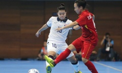 """HLV Trương Quốc Tuấn: 'Điểm yếu của ĐT Futsal nữ Việt Nam là dứt điểm"""""""