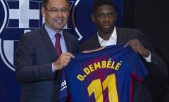 Dembele nghỉ dài hạn, Barca bất ngờ có 'niềm an ủi'
