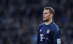 XÁC NHẬN: Neuer có thể nghỉ hết năm 2017