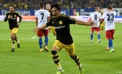 Thắng 3 sao trước Hamburg, Dortmund tái chiếm ngôi đầu Bundesliga