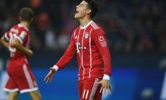 James đã không còn chỗ đứng tại Bayern