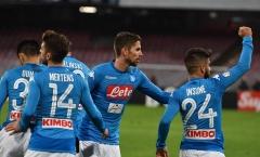 Insigne trở lại ngọt ngào, Napoli nhẹ nhàng vào tứ kết Coppa Italia