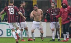 Đưa Milan vào bán kết, người hùng Cutrone chẳng ngại 'ăn thẻ'