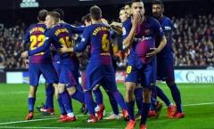 Thua đau ở Champions League, Barca vẫn có mùa giải tuyệt vời