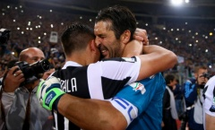 Hủy diệt Milan, Buffon ôm đồng đội khóc nức nở