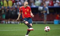 Andres Iniesta giã từ đội tuyển: Tạm biệt và cảm ơn huyền thoại
