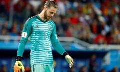 David De Gea dẫn đầu đội hình gây thất vọng nhất World Cup 2018