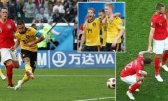 Chấm điểm tuyển Bỉ: Hazard - De Bruyne 'cân' cả tuyển Anh