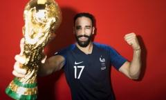 Chuyện chưa biết về 'thần may mắn' Adil Rami của tuyển Pháp