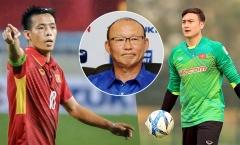 Vì sao HLV Park Hang-seo loại Văn Lâm, chọn Văn Quyết?