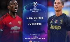 02h00 ngày 24/10, Man United vs Juventus: Quá khứ lung linh, hiện thực tàn khốc