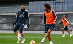 Không lên tuyển, Marcelo và Benzema 'vờn nhau' tại Madrid