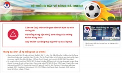 Tiếp tục bán vé Việt Nam vs Philippines từ 10h, hệ thống lại tê liệt