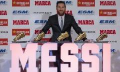 Bị Ronaldo thách thức sang Serie A, Messi đáp trả cực gắt