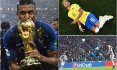 Những khoảnh khắc ấn tượng nhất 2018 (P1): Neymar ăn vạ; Siêu phẩm của Ronaldo