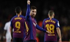 Barca hủy diệt Eibar trong ngày Messi thiết lập cột mốc siêu kỷ lục