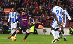 Chỉ xuất hiện 30 phút, Messi vẫn trở thành cầu thủ xuất sắc nhất trận