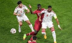 'Qatar không quan tâm đến hành động ném chai, giày dép của CĐV UAE'