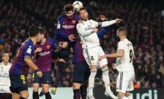 Barca chia điểm, Pique chỉ ra cái tên Real Madrid xứng đáng bị đuổi
