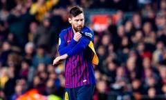 HLV Valverde phá vỡ im lặng về việc xếp Messi dự bị