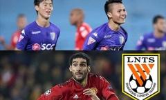 Fellaini và đồng đội có giá trị gấp hơn 53 lần CLB Hà Nội