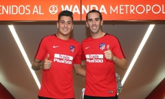 Diego Godin – Jose Gimenez: Điểm tựa thăng hoa của Atletico Madrid