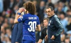 David Luiz nói gì về Sarri sau trận chung kết Carabao Cup