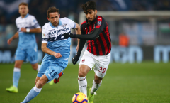 Piatek tịt ngòi, AC Milan bất phân thắng bại với Lazio tại Olympico