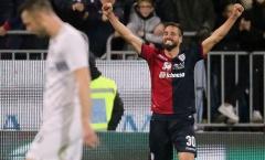 Địa chấn tại Sardinia, Inter Milan 'run rẩy' trong tốp 4