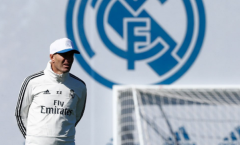 Buổi tập đầu tiên, Zidane thân thiết với 1 cái tên