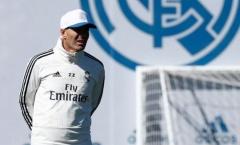 Kế hoạch của Zidane với các ngôi sao bị lãng quên tại Los Blancos
