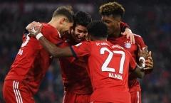 Tổng hợp vòng 26 Bundesliga: Bayern và Dortmund đua ngôi đầu khốc liệt
