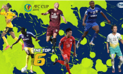 Cùng lập hattrick, 2 đại diện Việt Nam lọt top 6 cầu thủ hay nhất lượt 4 AFC Cup
