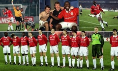 Man Utd tạo nên cuộc lội ngược dòng vĩ đại 'phép màu Turin' 20 năm trước