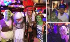 David Luiz 'biến hóa' thành người Mỹ bản địa trong ngày sinh nhật