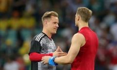 Ter Stegen nói điều thật lòng về suất bắt chính tại tuyển Đức