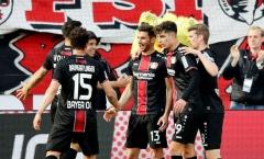 Leverkusen đánh tennis với Frankfurt và lập kỷ lục khủng ở Bundesliga