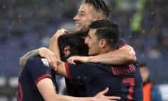 Hòa Lazio kịch tính, Bologna chính thức trụ hạng