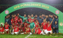 Lewy tỏa sáng, Bayern đè bẹp Leipzig đăng quang cúp quốc gia Đức