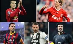 Fernando Torres và những ngôi sao giải nghệ đầy tiếc nuối vào Hè 2019