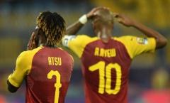 Câu giờ phút 54, Ghana nhận cái kết đắng ngày ra quân