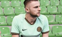 Inter ra mắt áo đấu 'lạ' khiến CĐV phát cuồng