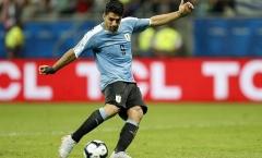 Luis Suarez hóa tội đồ, Uruguay bị Peru đá văng khỏi Copa America 2019