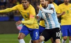 Sao Brazil: 'Đối đầu với Messi là một đặc ân'